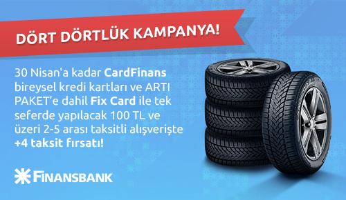 Finansbank + 4 Taksit Kampanyası